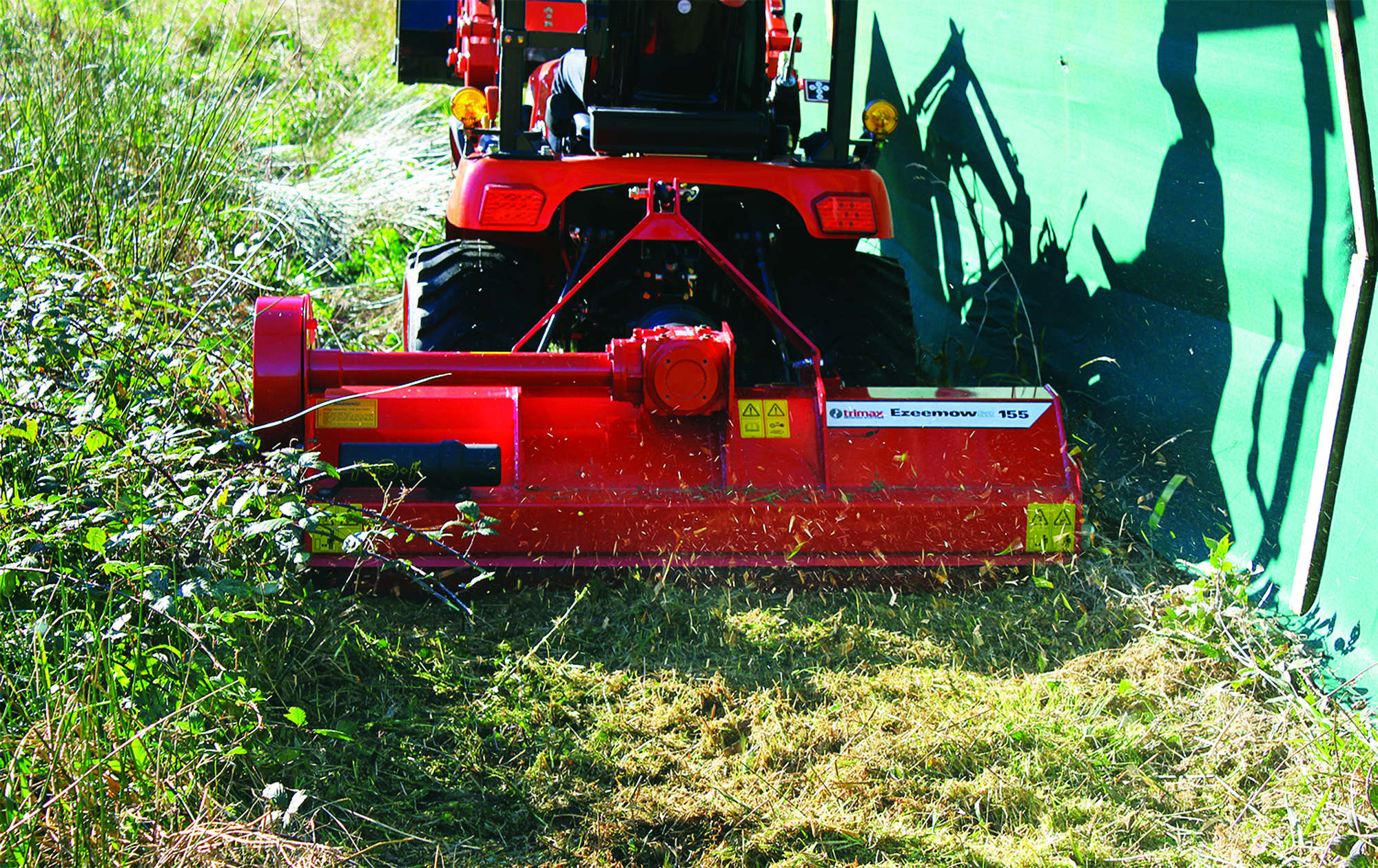 Ezeemow FX - Flail Mower for Compact Tractors | Trimax Mowing Systems NZ