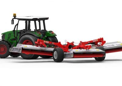 Quicklift Render Mower Red