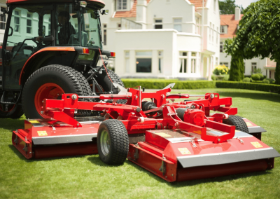 Lawn Mower Red Small
