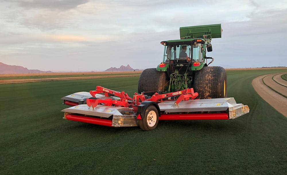 Trimax Rear mounted mower