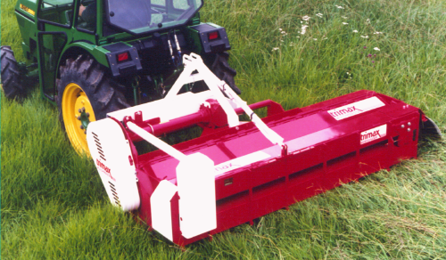 Trimax Lawn Mower Red