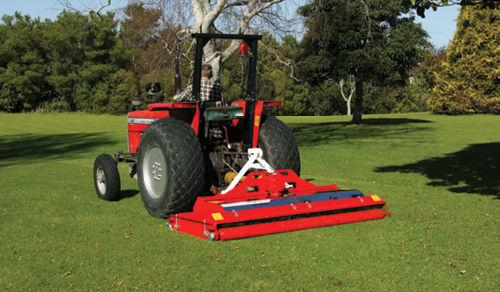Windsor Castle mows with Trimax