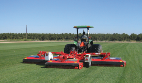 About US Trimax Large Mower Red