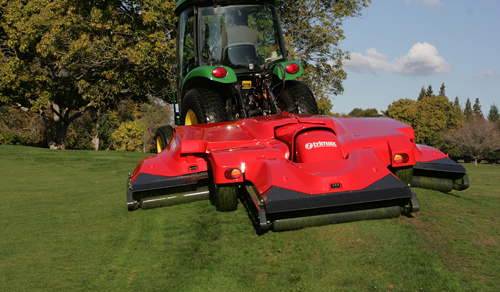 Trimax mower red