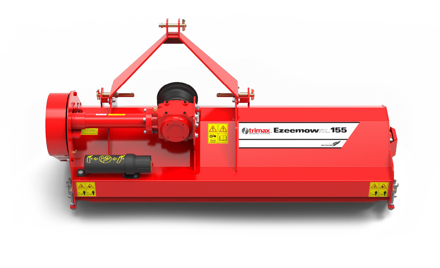 Ezeemow FX-155 mower front Red