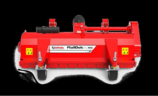 FlailDek FX-155 Mower Red