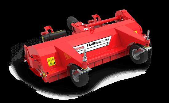 FlailDek FX 155 mower red
