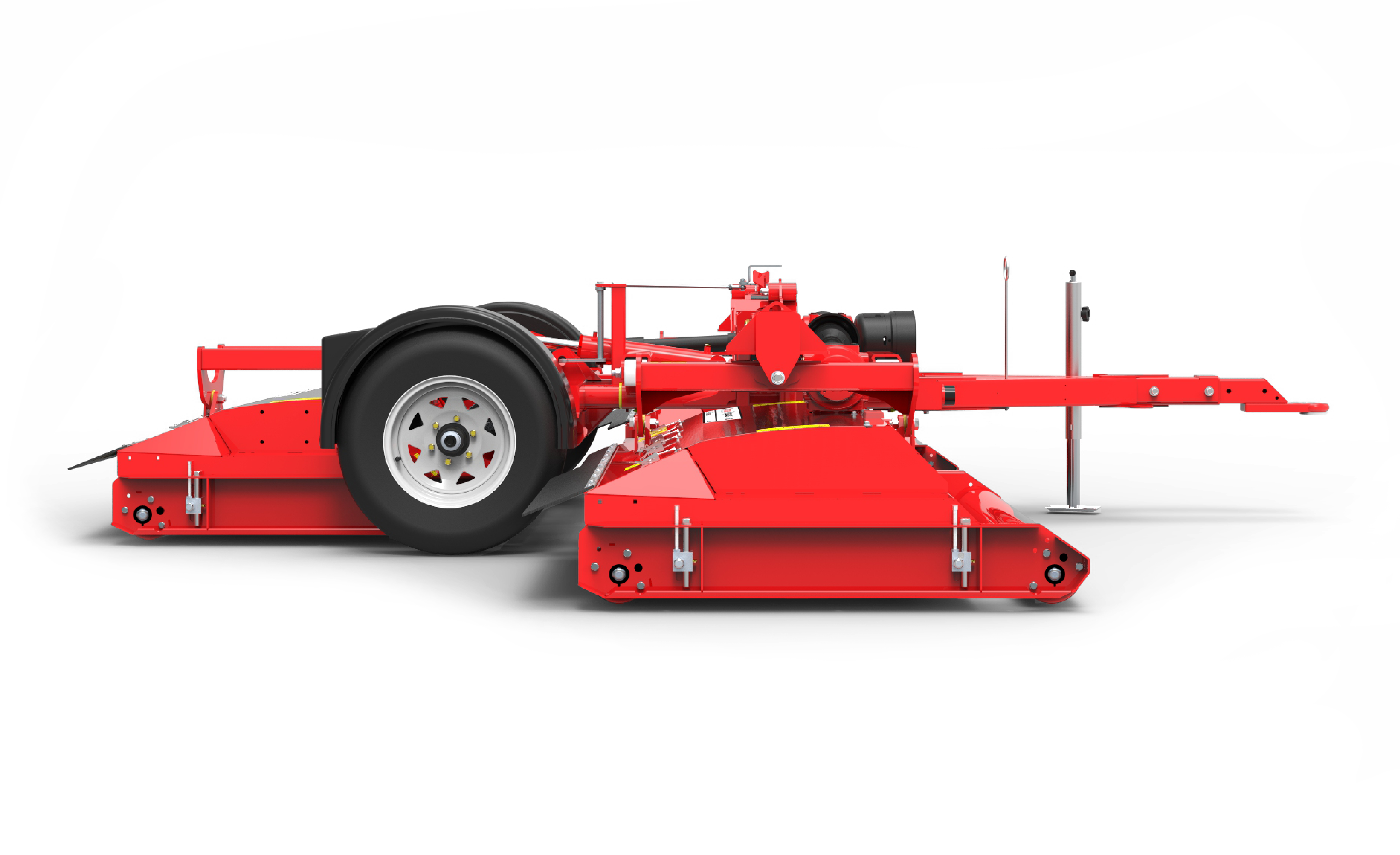Pegasus S4 mower sideview