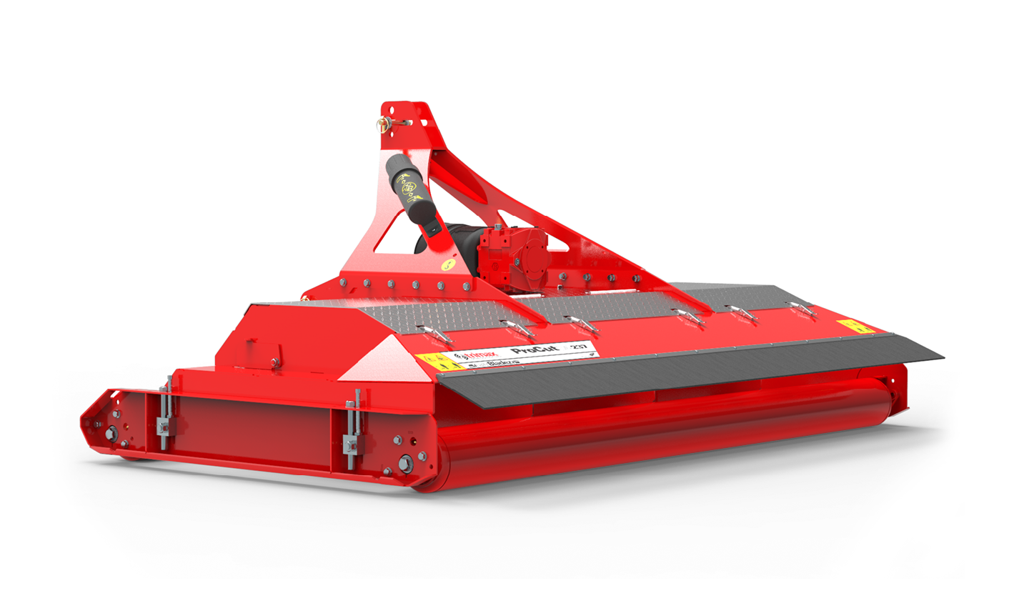 ProCut S4-237 mower sideview red