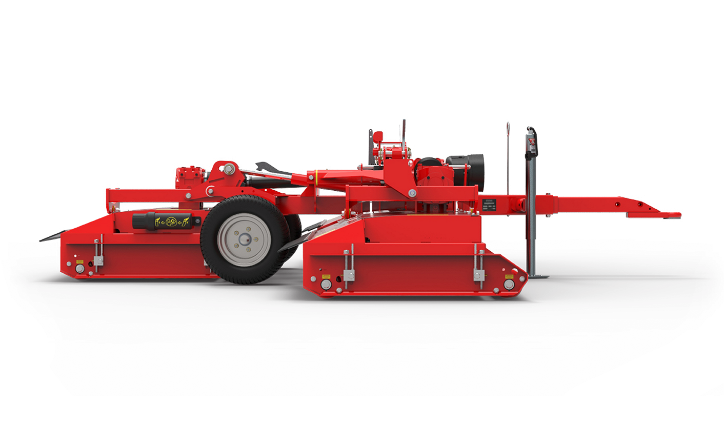 Snake S2 sideview Mower red