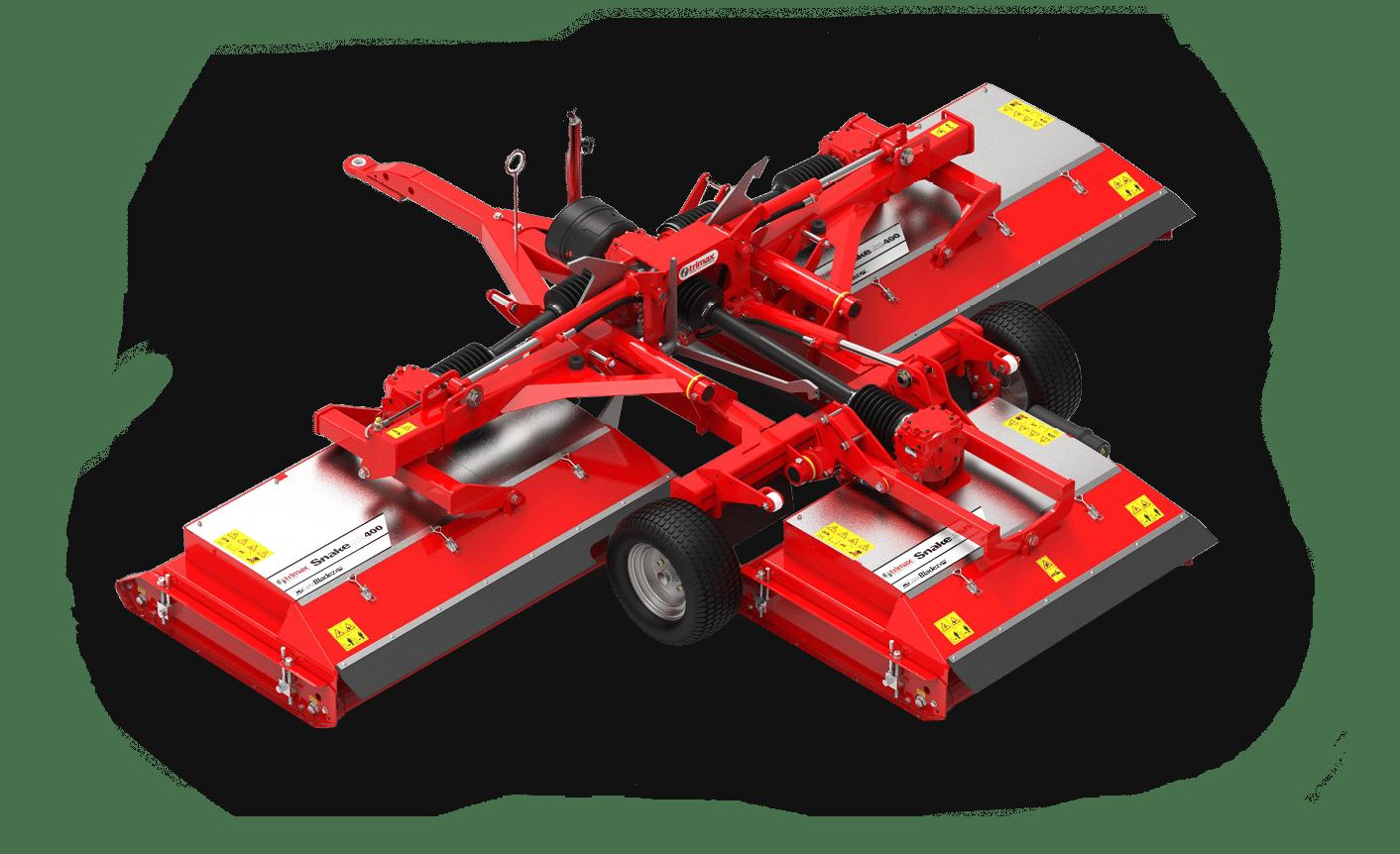 Snake S2-400 Mower Red