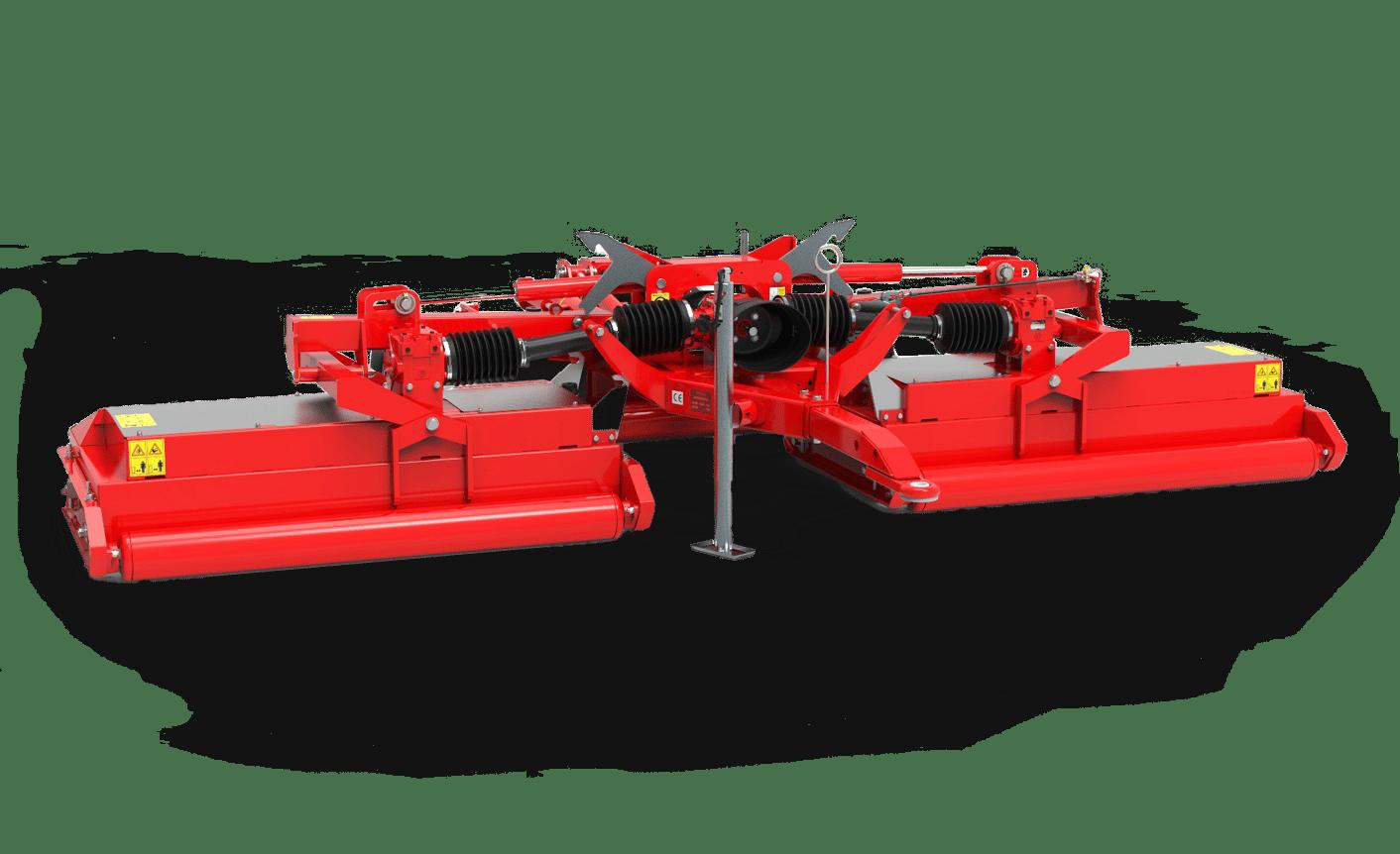 Snake S2 mower rear red