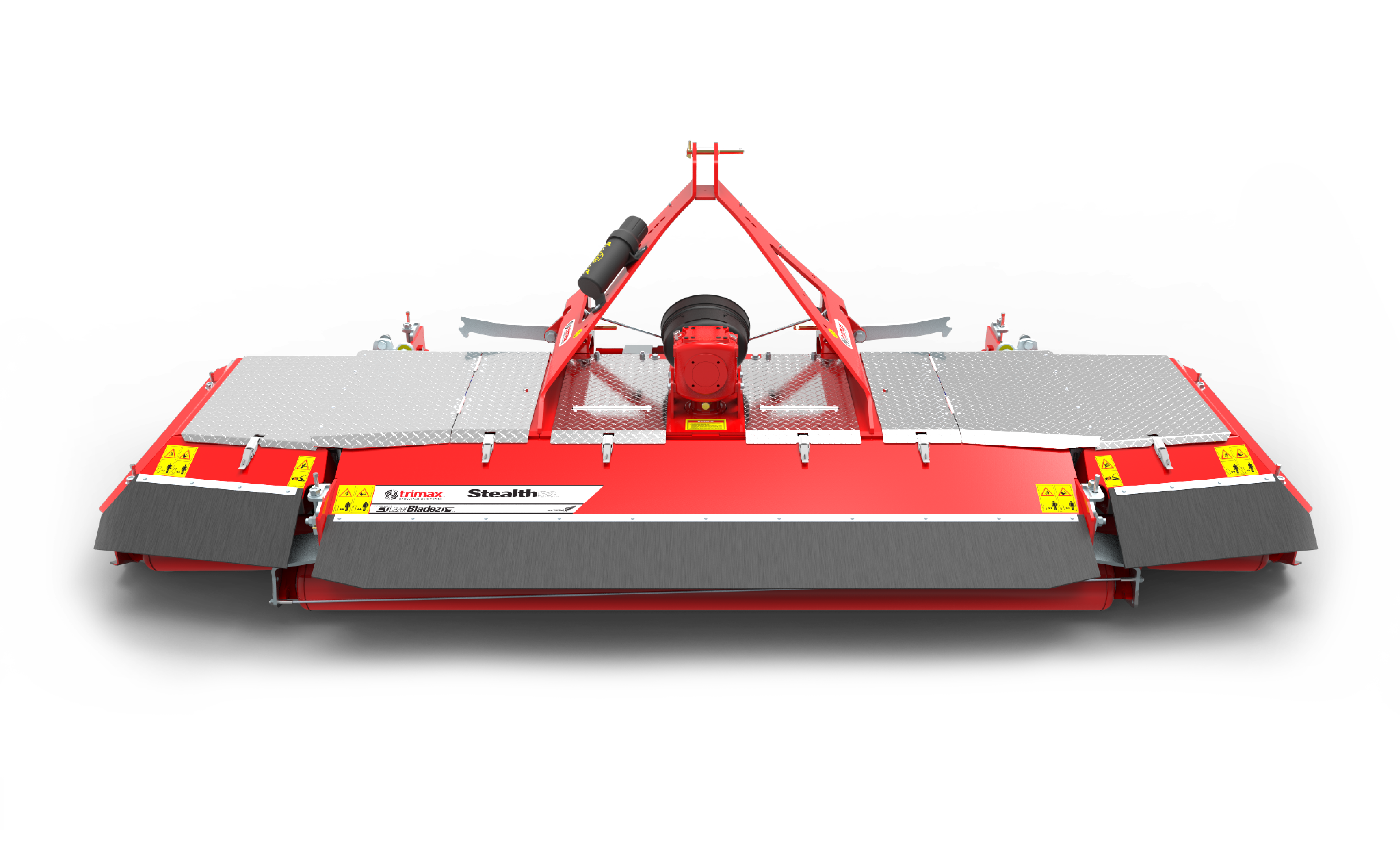 Stealth-S3 mower front red