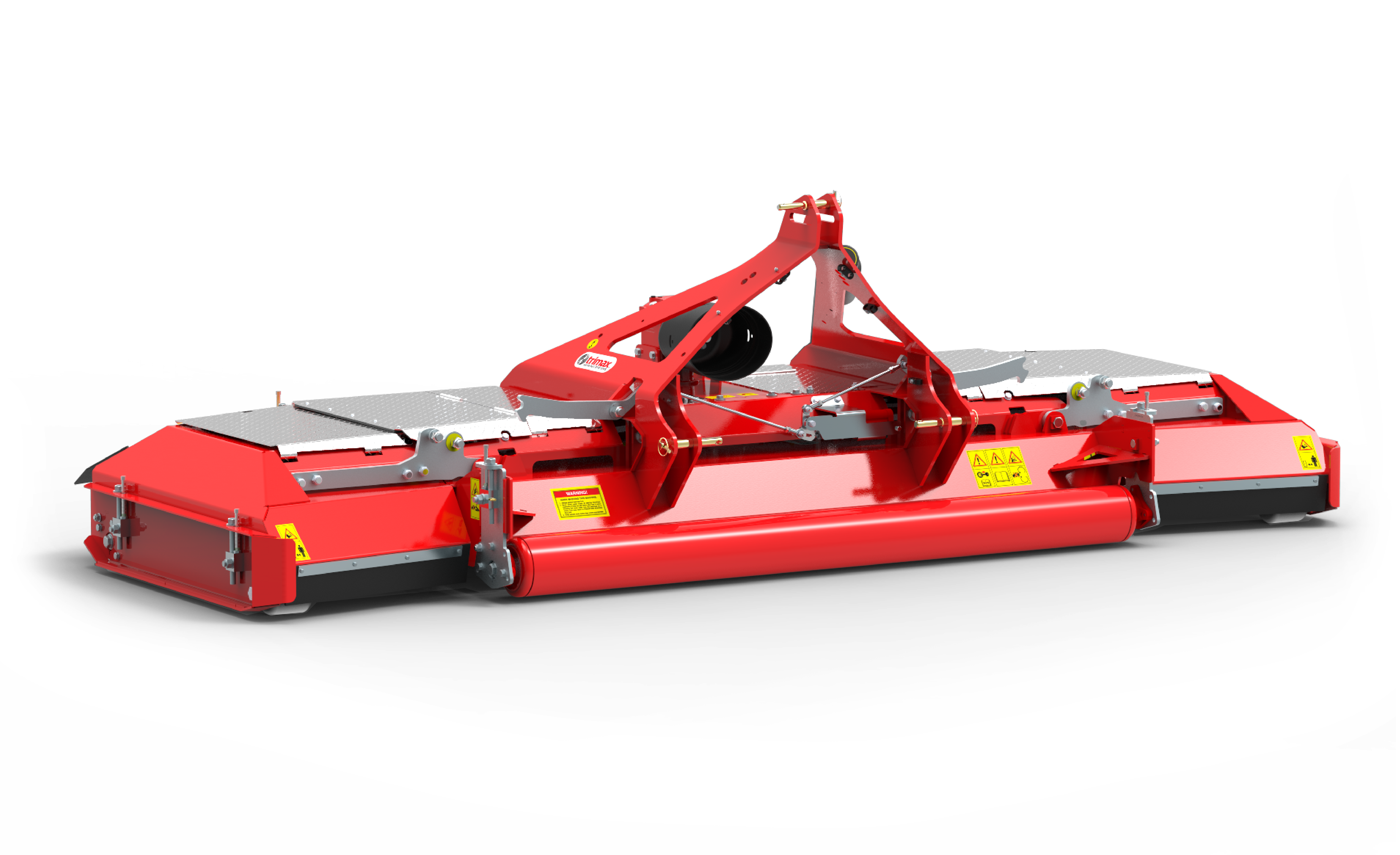 Stealth S3 Mower 4 part red