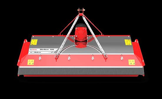 Striker-190 Lawn Mower Red