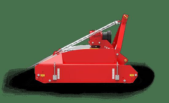 Striker Lawn Mower Sideview Red