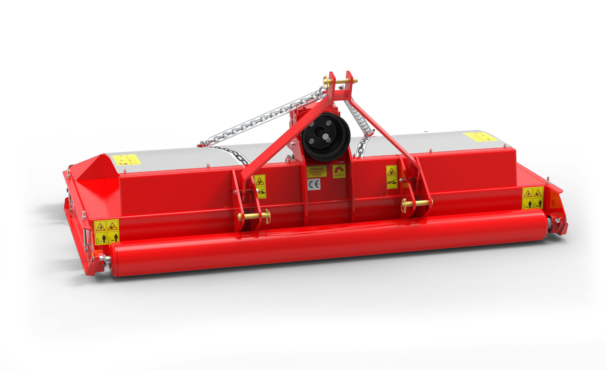 Striker mower rear red
