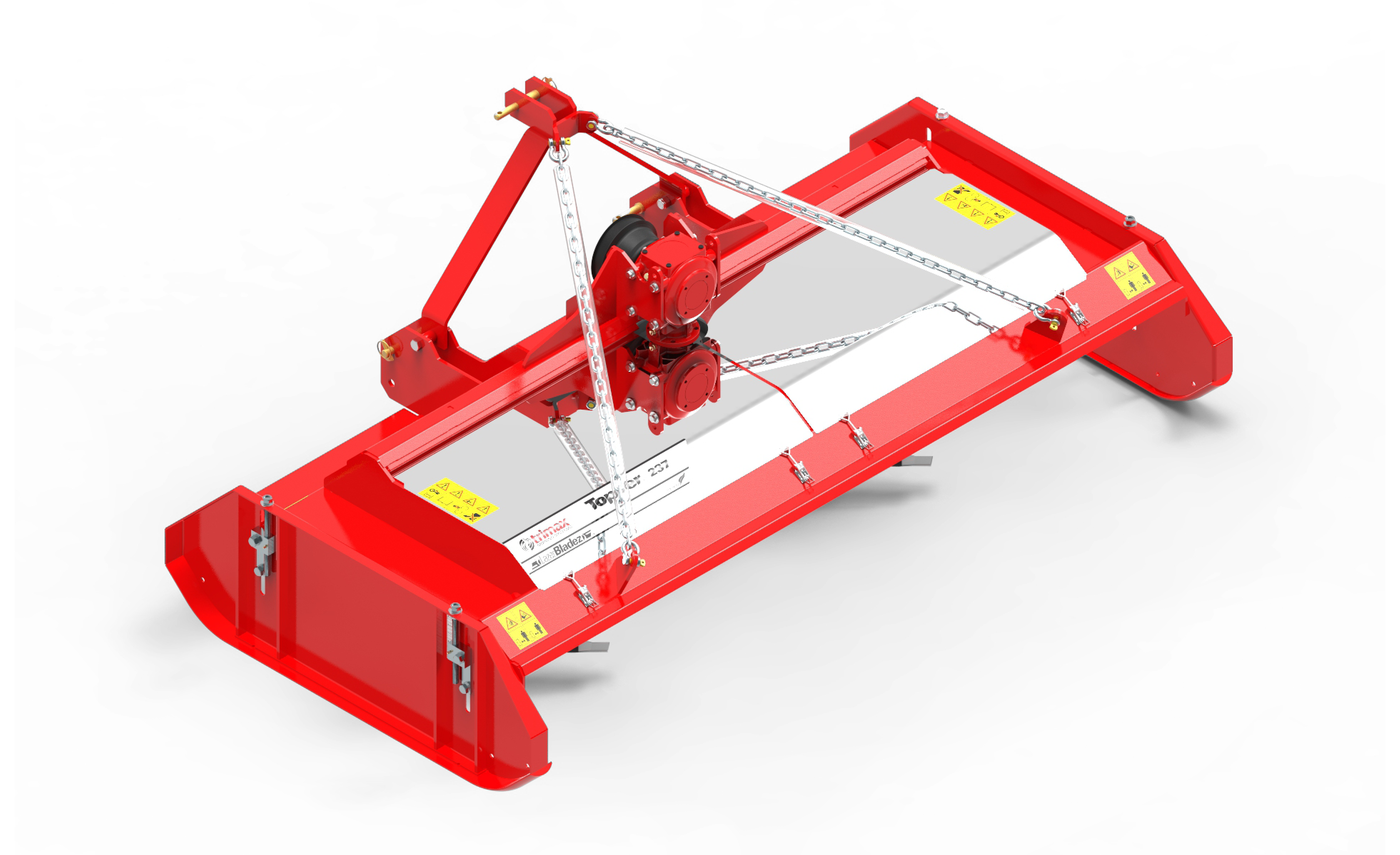 Topper 237 Mower Red