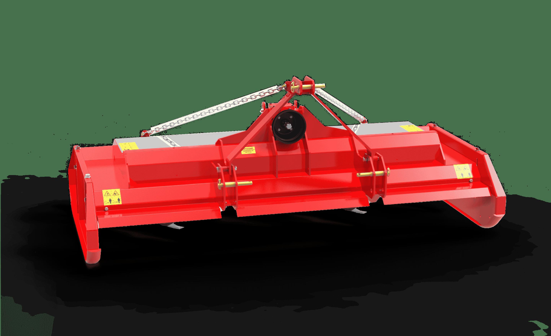 Topper mower rear
