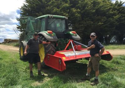 Centre mounted for easy access to paddocks and sheds