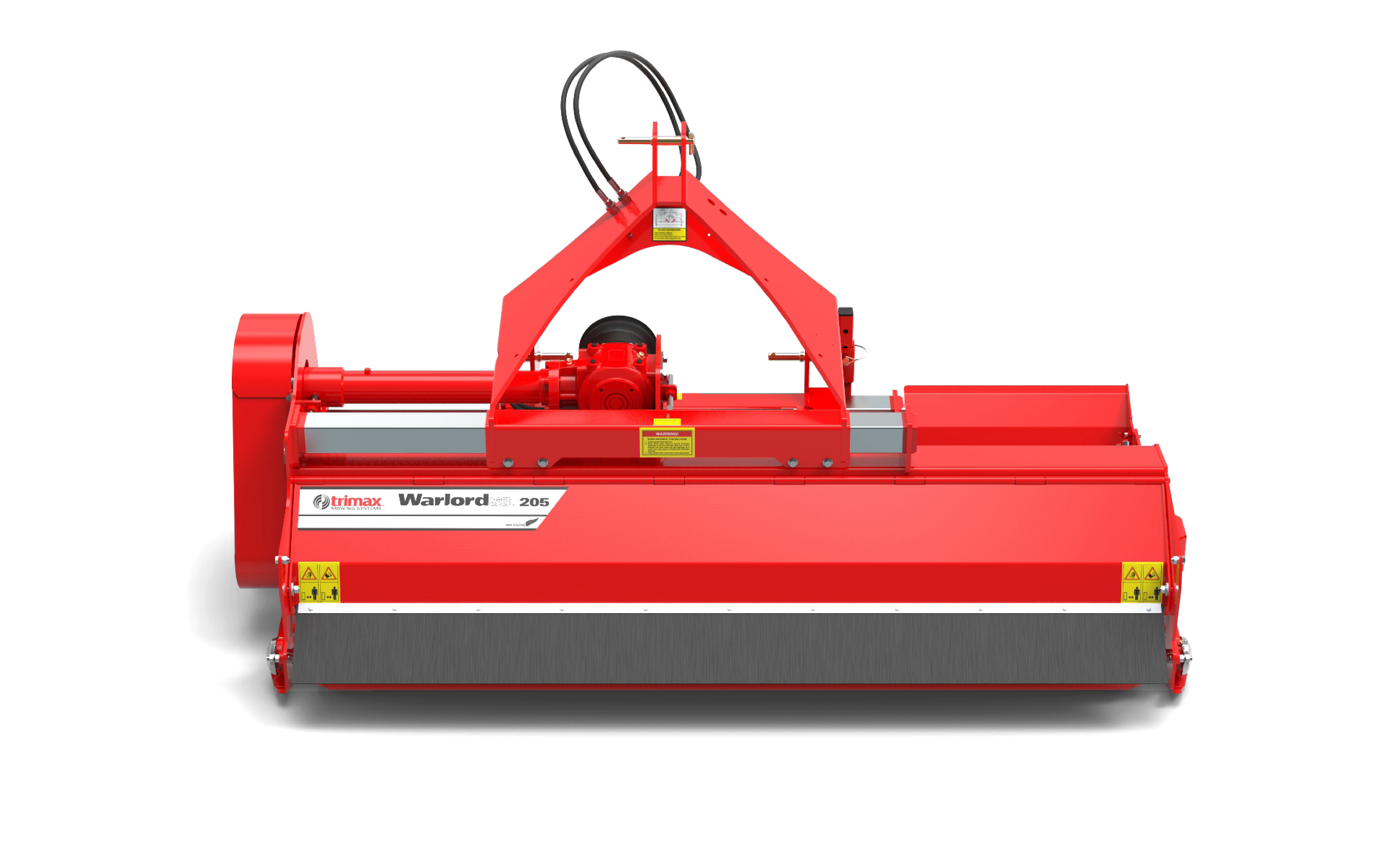 Warlord S3-205 Mower Red
