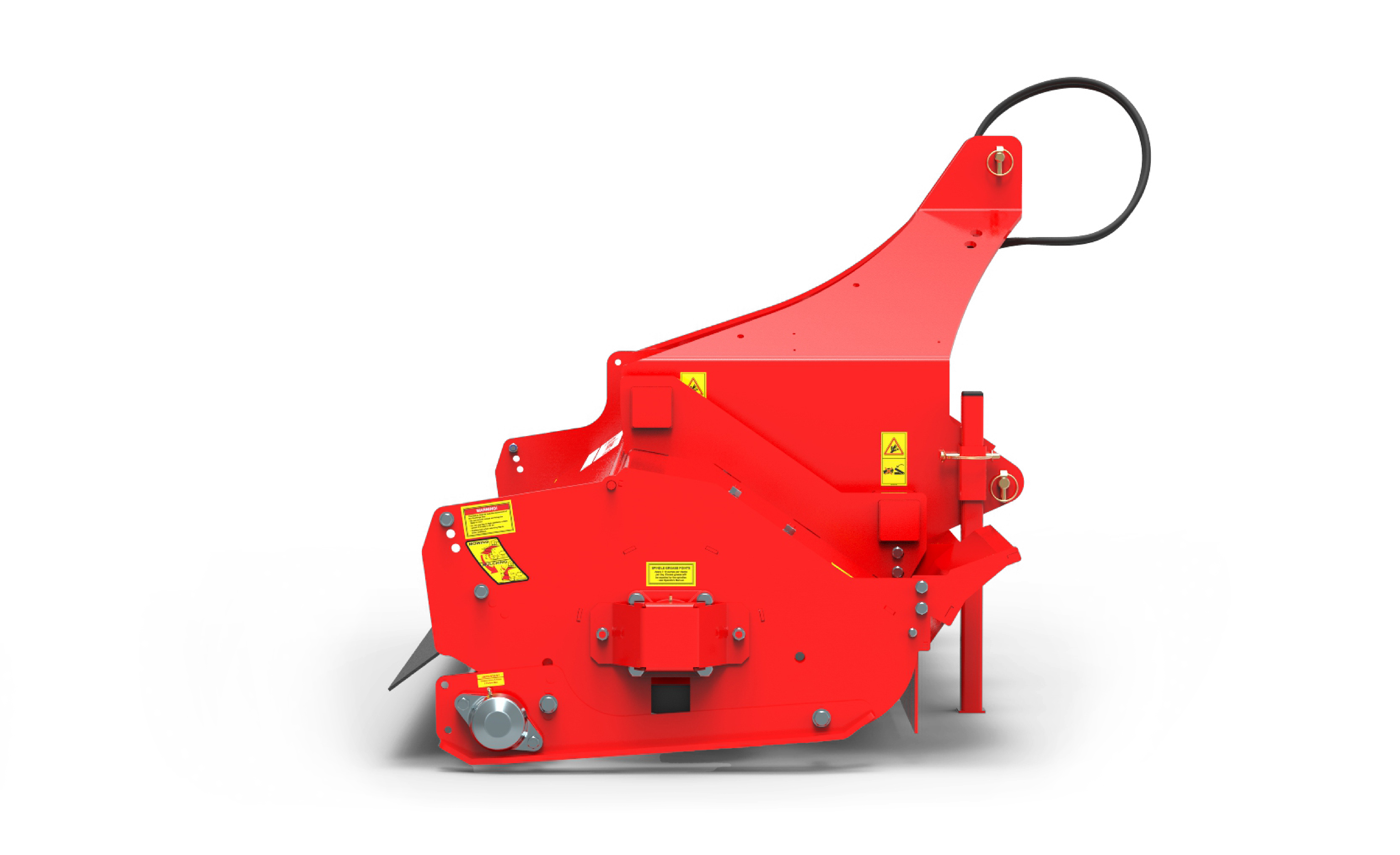 Warlord S3 sideview Mower red