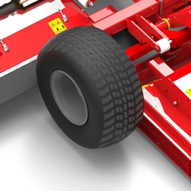 Rear rollers